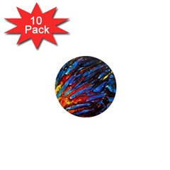 The Looking Glas 1  Mini Magnet (10 Pack)