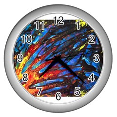 The Looking Glas Wall Clocks (silver)