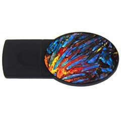 The Looking Glas Usb Flash Drive Oval (2 Gb)