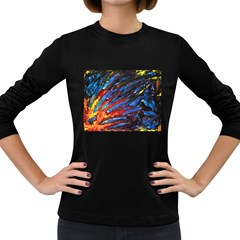 The Looking Glas Women s Long Sleeve Dark T Shirts
