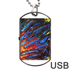 The Looking Glas Dog Tag USB Flash (One Side)
