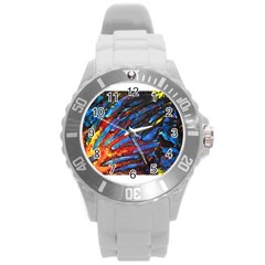The Looking Glas Round Plastic Sport Watch (l)