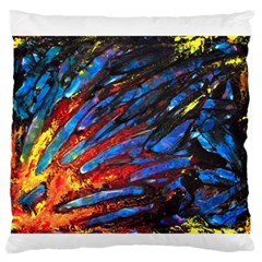 The Looking Glas Large Flano Cushion Cases (one Side)