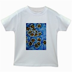 Floating on Air Kids White T-Shirts