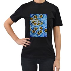 Floating on Air Women s T-Shirt (Black) (Two Sided)