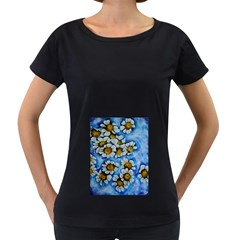 Floating on Air Women s Loose-Fit T-Shirt (Black)