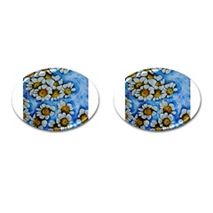 Floating On Air Cufflinks (oval)