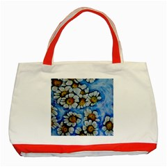 Floating On Air Classic Tote Bag (red)