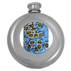 Floating On Air Round Hip Flask (5 Oz)