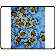 Floating on Air Double Sided Fleece Blanket (Medium)
