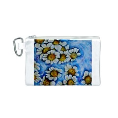 Floating on Air Canvas Cosmetic Bag (S)