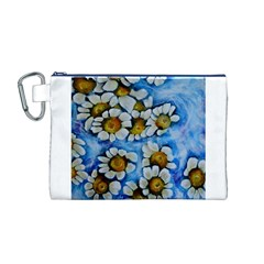 Floating on Air Canvas Cosmetic Bag (M)
