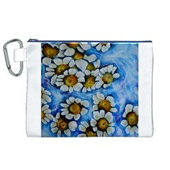 Floating on Air Canvas Cosmetic Bag (XL)