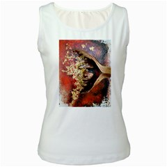 Red Mask Women s Tank Tops