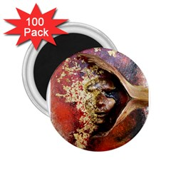 Red Mask 2 25  Magnets (100 Pack)