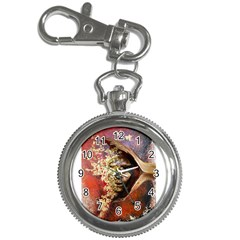Red Mask Key Chain Watches