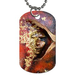 Red Mask Dog Tag (two Sides)