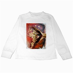 Red Mask Kids Long Sleeve T-Shirts