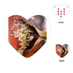 Red Mask Playing Cards (Heart)