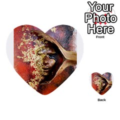 Red Mask Multi Purpose Cards (heart)