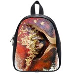 Red Mask School Bags (Small)  Front