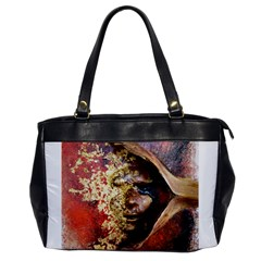 Red Mask Office Handbags