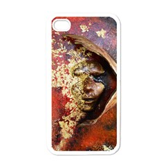 Red Mask Apple Iphone 4 Case (white)