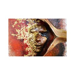 Red Mask You Are Invited 3d Greeting Card (8x4)