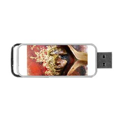 Red Mask Portable USB Flash (Two Sides)