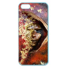 Red Mask Apple Seamless Iphone 5 Case (color)