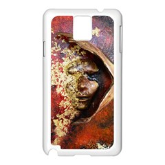 Red Mask Samsung Galaxy Note 3 N9005 Case (white)