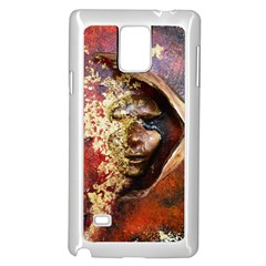 Red Mask Samsung Galaxy Note 4 Case (white)