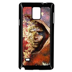 Red Mask Samsung Galaxy Note 4 Case (Black)