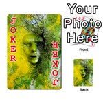Green Mask Playing Cards 54 Designs  Front - Joker2
