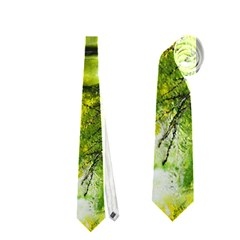 Green Mask Neckties (one Side)