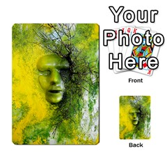 Green Mask Multi Purpose Cards (rectangle)