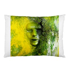 Green Mask Pillow Cases (Two Sides)