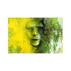 Green Mask YOU ARE INVITED 3D Greeting Card (8x4)