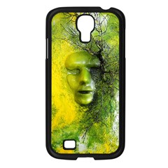 Green Mask Samsung Galaxy S4 I9500/ I9505 Case (black)