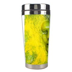 Green Mask Stainless Steel Travel Tumblers