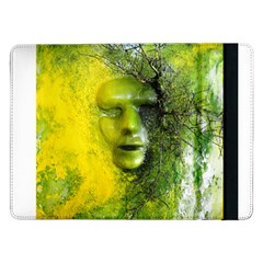 Green Mask Samsung Galaxy Tab Pro 12 2  Flip Case
