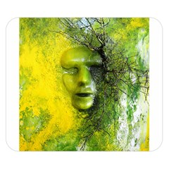 Green Mask Double Sided Flano Blanket (Small)