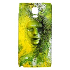 Green Mask Galaxy Note 4 Back Case
