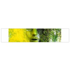 Green Mask Flano Scarf (Small)