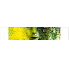 Green Mask Flano Scarf (Large)