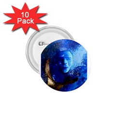 Blue Mask 1 75  Buttons (10 Pack)