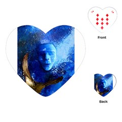 Blue Mask Playing Cards (heart)