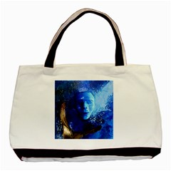Blue Mask Basic Tote Bag