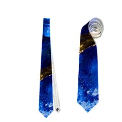 Blue Mask Neckties (one Side)