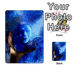 Blue Mask Multi Purpose Cards (rectangle)